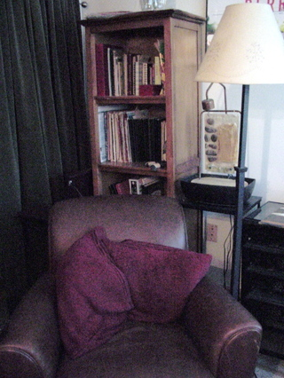 Journals_and_armchair_office